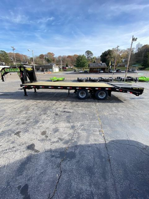 2021 Gatormade Trailers 102''x30' Gooseneck Equipment Trailer