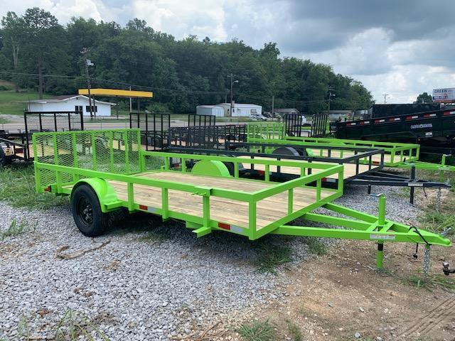 "2020 Outlaw Trailers 7' x 14' SA ""FULL TUBE"" Utility Trailer"