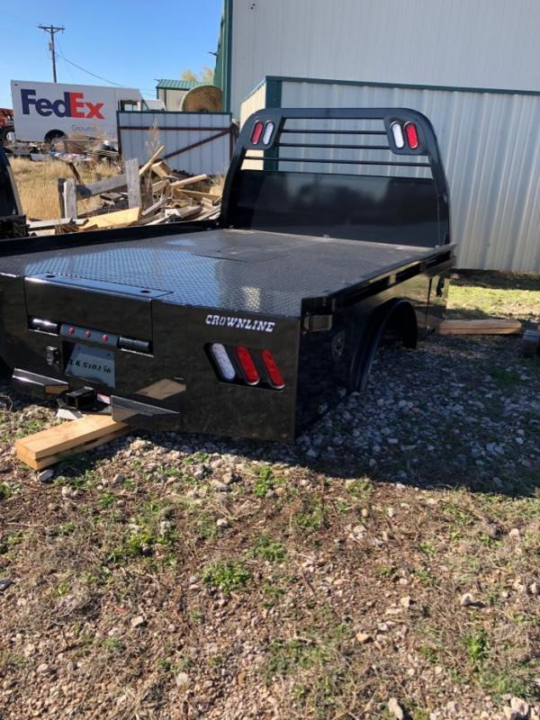2021 Crownline (Hay Beds) Skirted Spikebed Truck Bed