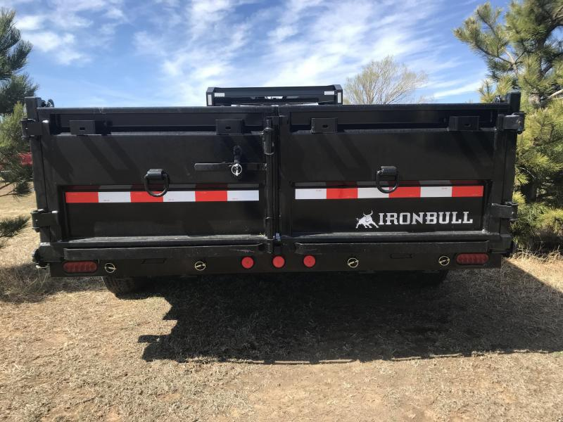 2021 Iron Bull DTG Dump Trailer