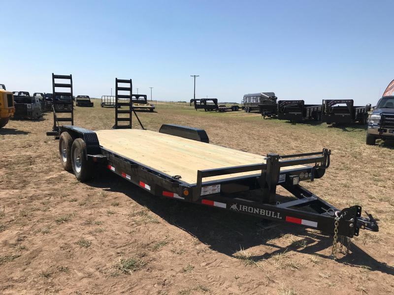2019 Iron Bull 20' EQUIPMENT HAULER Equipment Trailer