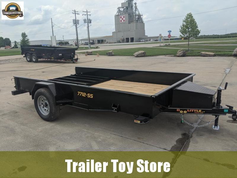 2022 DooLitttle Trailers 7712 SS Utility Trailer