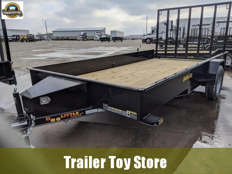 2021 DooLitttle Trailers 8414 SS Utility Trailer