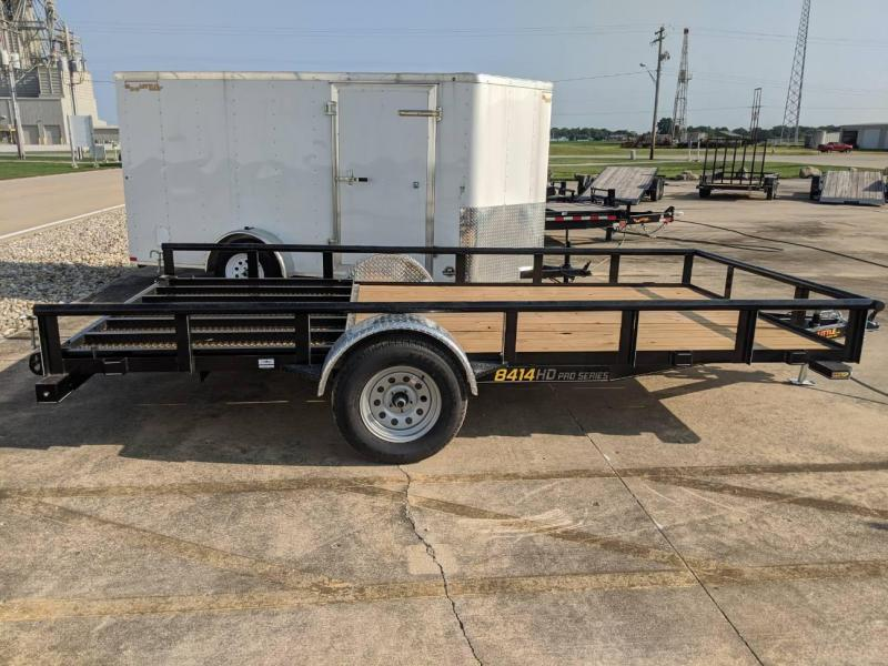 2021 DooLitttle Trailers 8414 pipe top Utility Trailer