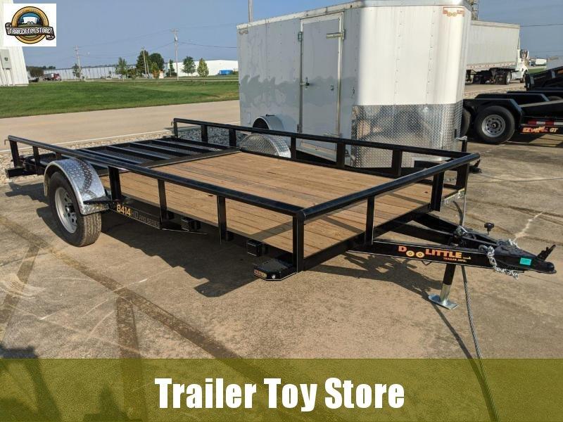 2021 DooLitttle Trailers 8414 pipe top Utility Trailer