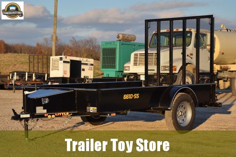 2019 Doolittle 6610-SS Utility Trailer