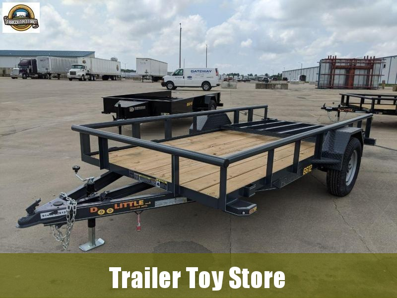 2020 DooLitttle Trailers 6612 pipetop Utility Trailer