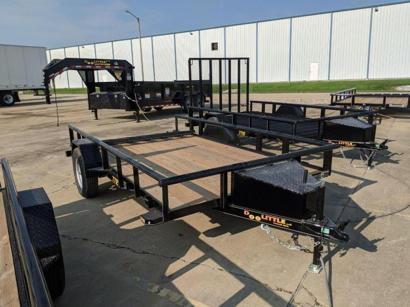2021 DooLitttle Trailers 7712 Pipe Top Utility Trailer