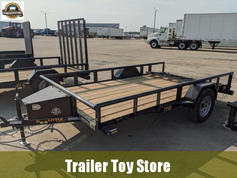 2021 DooLitttle Trailers 7712 Pipe Top Utility Trailer