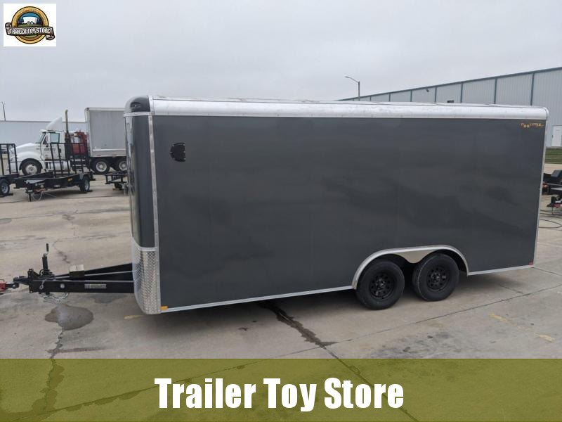 2021 DooLitttle Trailers 8.5x18 Round Body Enclosed Cargo Trailer
