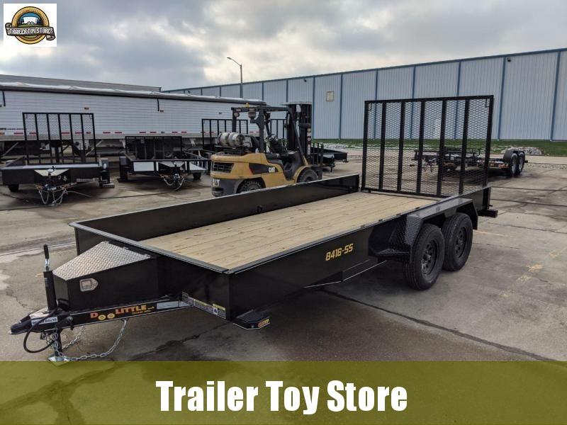 2021 DooLitttle Trailers 8416 SS Utility Trailer