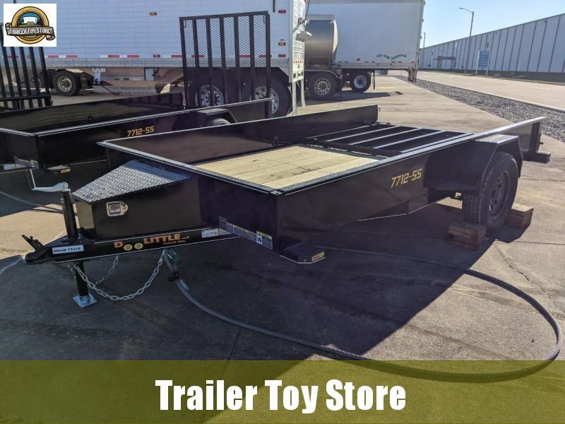 2021 DooLitttle Trailers 7712 SS Utility Trailer