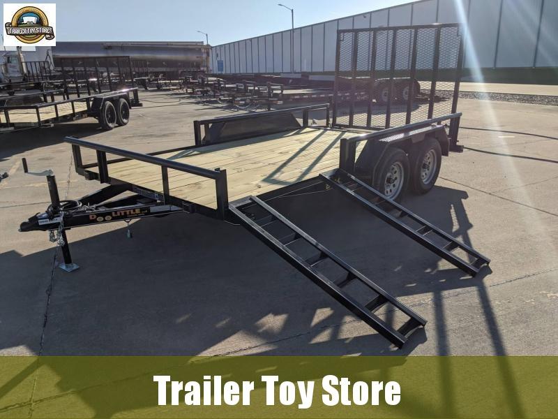 2021 DooLitttle Trailers 8414 T/A Utility Trailer