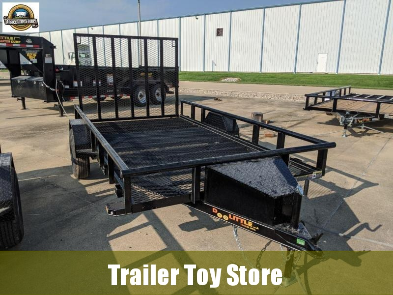 2021 DooLitttle Trailers 7712 Pipe Top Mesh Floor Utility Trailer