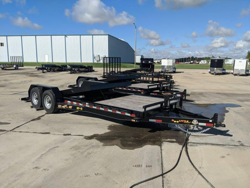 2020 DooLitttle Trailers 16 + 6 Ez Loader GT Equipment Trailer