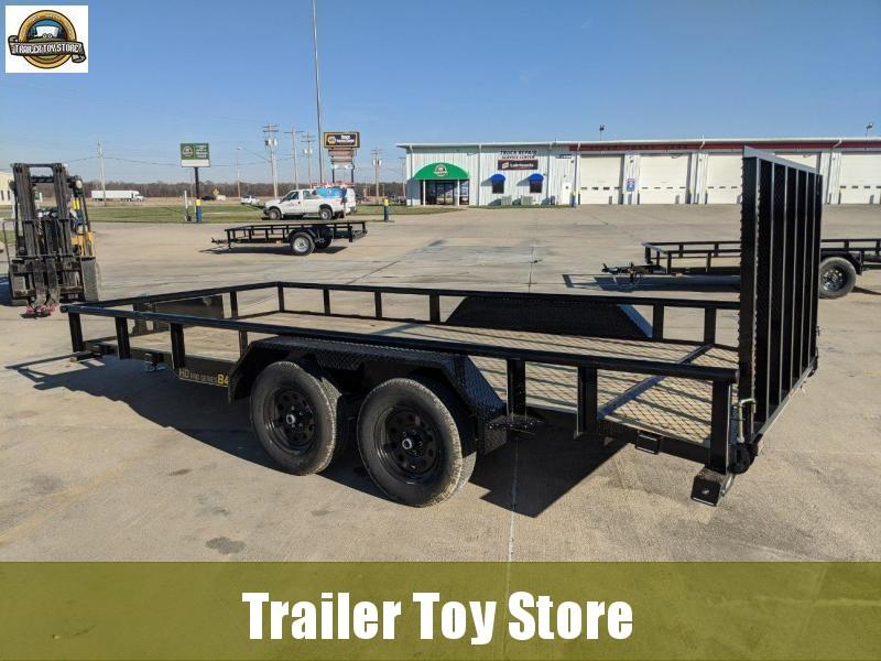 2021 DooLitttle Trailers 8416 T/A Utility Trailer