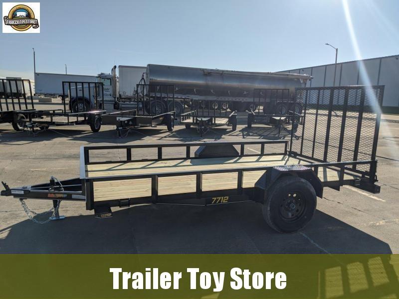 2021 DooLitttle Trailers 7712 Rally Sport Utility Trailer