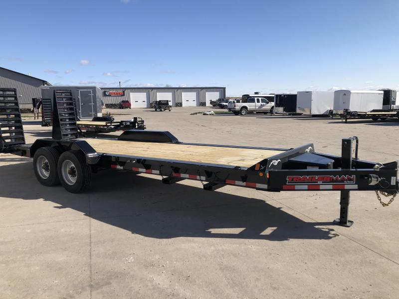 2021 Trailerman Trailers Inc. 83X20+2 CONTRACTORS SPECIAL HD TRAILER