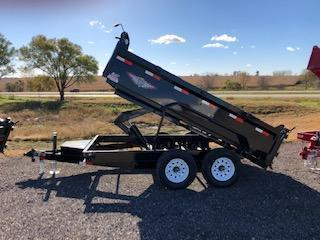2021 H AND H 76X12 TANDEM UTILITY DUMP TRAILER