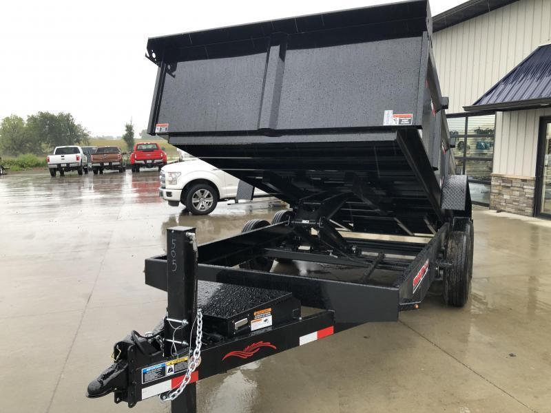 2022 Trailerman Black 83x14 14K Dump Trailer