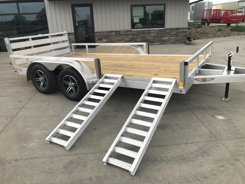 2021 H&H Trailers Aluminum 82x14 7K ATV Trailer