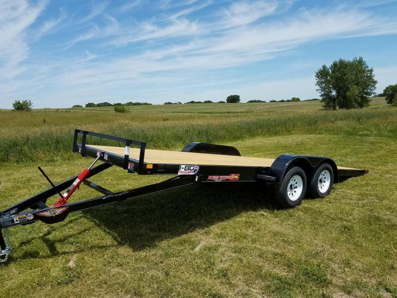 "2020 H and H Trailers 82""X20' Manual Tilt 5.2k Axles Speedloader Car/Equipment Trailer"