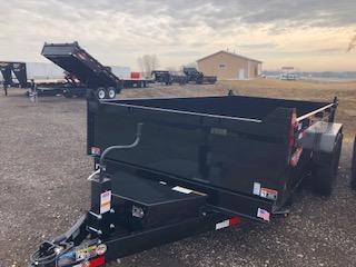 2021 H&H BLACK 83X12 DBW DUMP BOX 14K