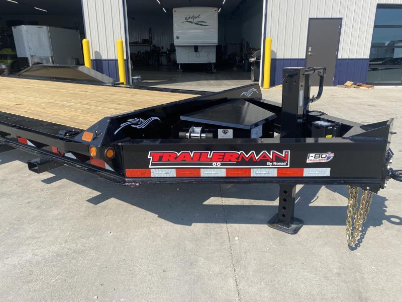 2022 Trailerman Black 83x20+2 20K HD Contractors Special Equipment Trailer