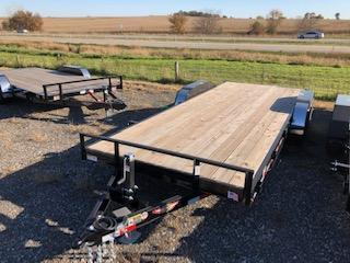 2020 H&H 82x18+2 HD FLATBED DOVETAIL 10K TRAILER