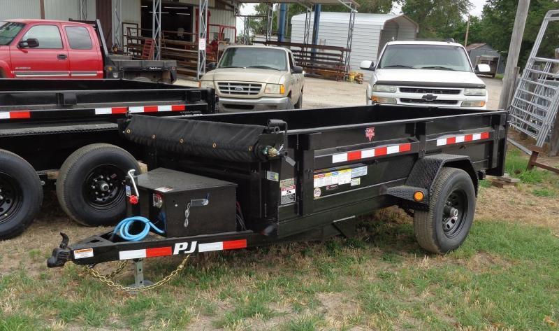"2021 PJ Trailers 60"" x 10' Utility Dump Trailer"