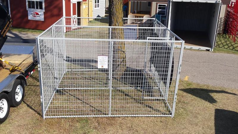 Heavy Duty Welded Wire Dog Kennel