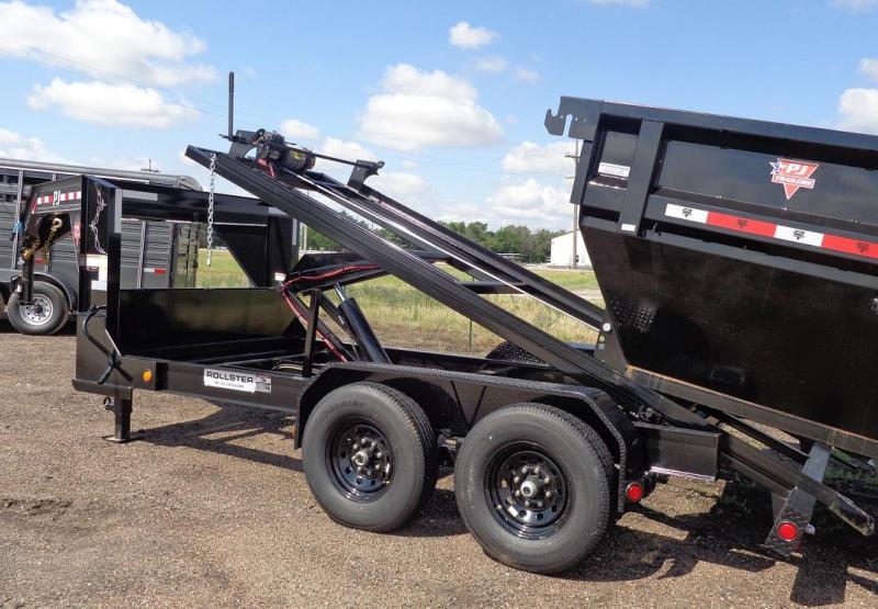 2022 PJ Trailers 14' Gooseneck Rollster Roll Off Dump (DR) Trailer
