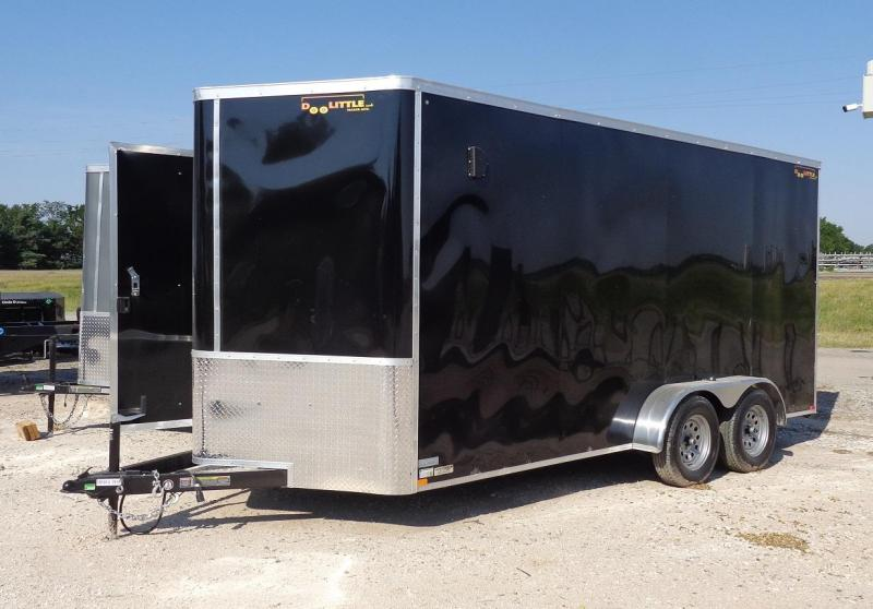2021 Doolittle Trailer Mfg 7' x 16' Enclosed Cargo Trailer