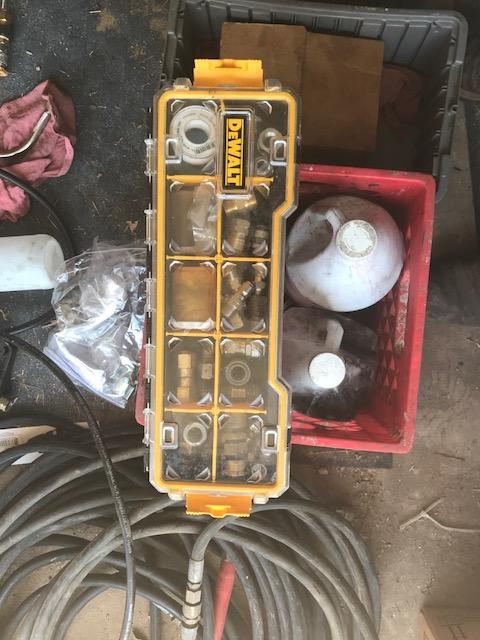 2008 Hydro 16' Pressure Washer Trailer Power Washer