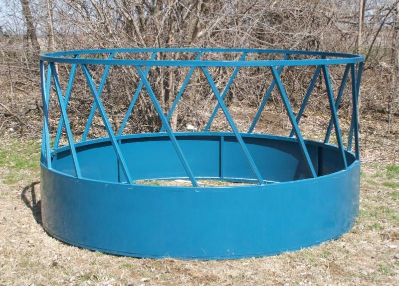 Steel 2 Piece Round Bale Feeder