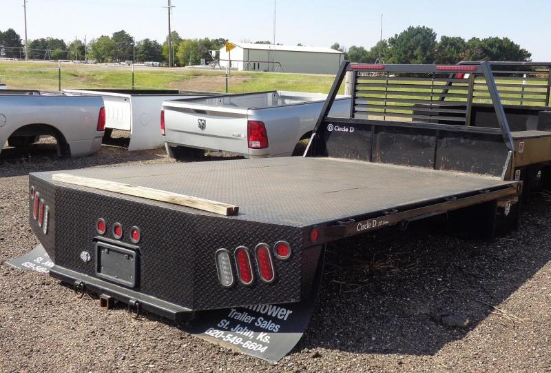 2019 Circle D 8' x 11'3 Pickup Flatbed Truck Bed