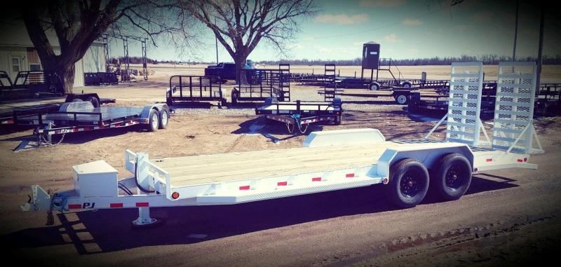 "2020 PJ Trailers 80"" x 22' 6"" Channel Equipment Trailer"