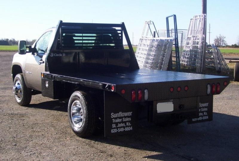 2021 Circle D 8' x 8.5 Dually Standard Flatbed