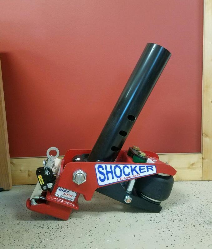 2021 Shocker Gooseneck Surge Air Hitch