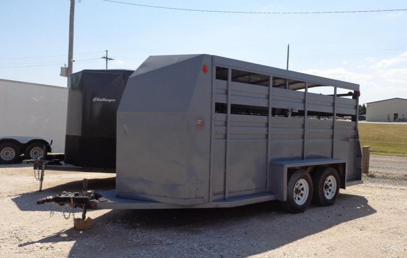 1988 Hillsboro Industries 6' x 16' Livestock