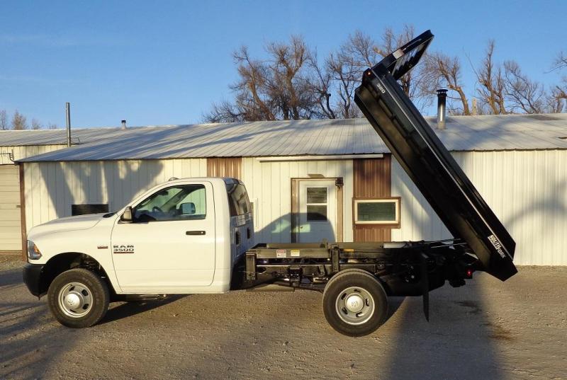 2019 C5 South Fork Dumping Flatbed Truck Bed