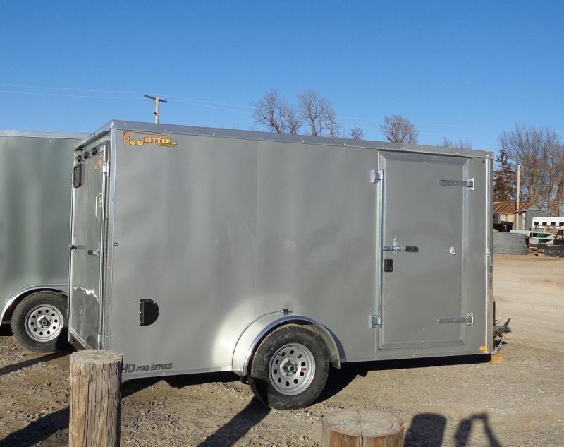 2021 Doolittle Trailer Mfg 6' x 12' Enclosed Cargo Trailer