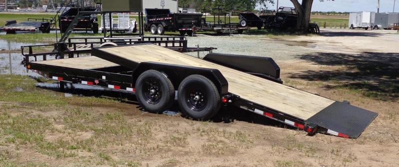 2020 PJ Trailers (T6) 22ft 6 in. Channel Equipment Tilt Trailer