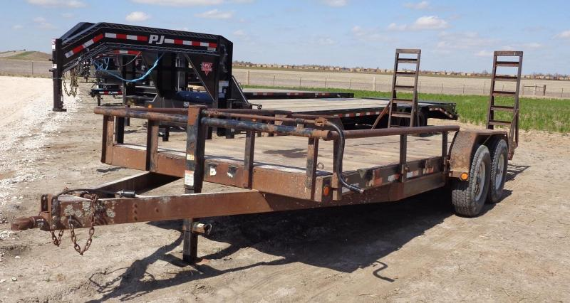 "2007 PJ Trailers 83"" x 20' Equipment Trailer"