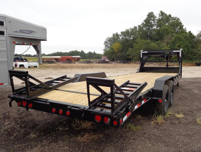 2021 PJ Trailers 26' x  8 in. Channel (C8) Equipment Trailer