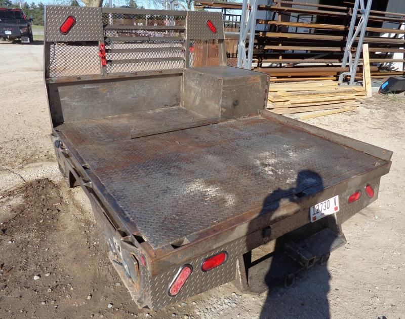 2010 Used Skirted Flatbed Truck Bed Fits Dodge Short Bed