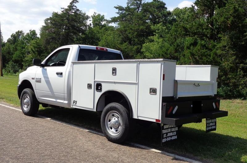 2020 PJ Truck Beds GU Sevice Bed Truck Bed