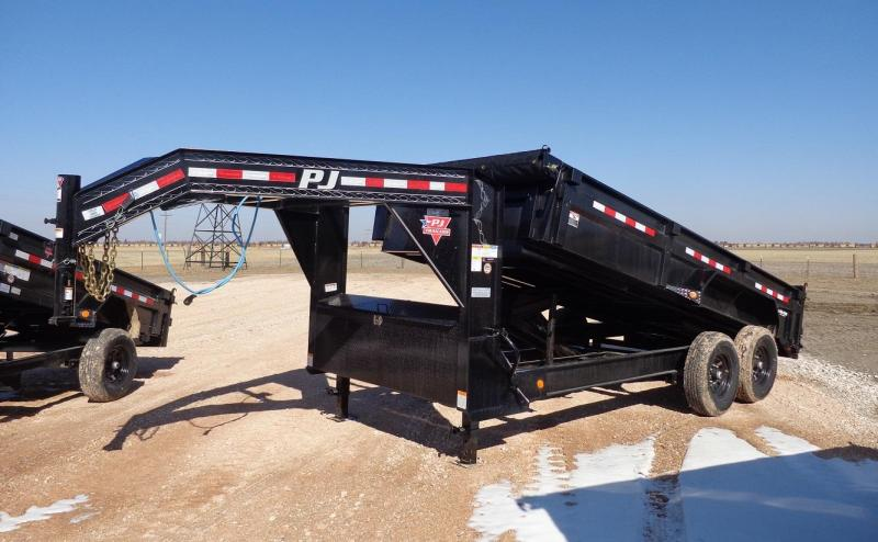 "2021 PJ Trailers 83"" x 16' Low Pro (DL) Dump Trailer"