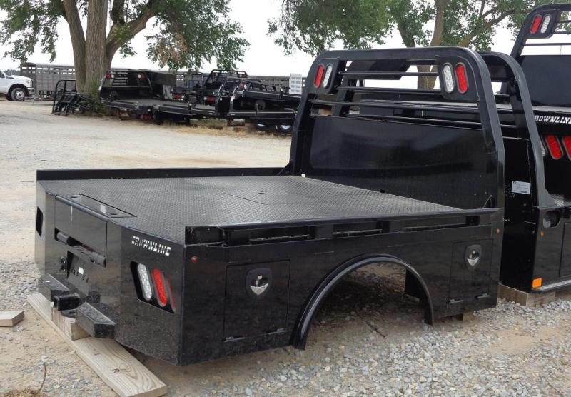 2021 Crownline (Hay Beds) Skirted Spike Bed Single Wheel Truck Bed