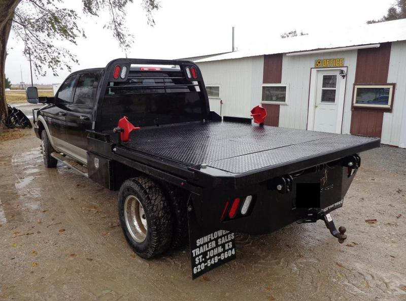2021 Crownline Arm Bed (Hay Beds) Dually Truck Bed
